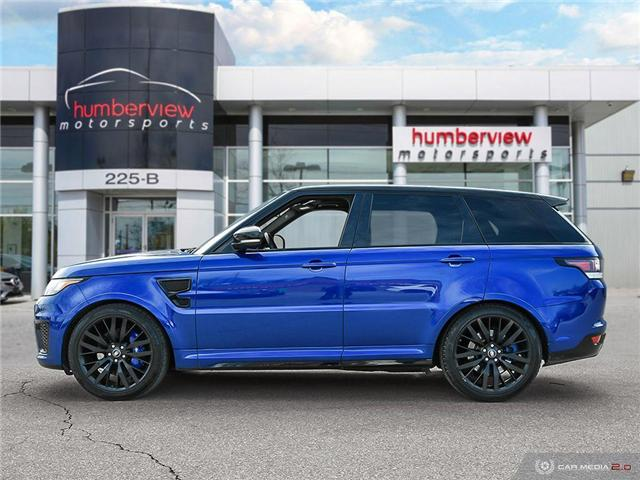 2016 Land Rover Range Rover Sport V8 Supercharged (Stk: 19HMS277) in Mississauga - Image 3 of 27
