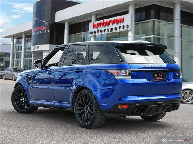 2016 Land Rover Range Rover Sport V8 Supercharged (Stk: 19HMS277) in Mississauga - Image 4 of 27