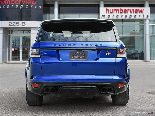 2016 Land Rover Range Rover Sport V8 Supercharged (Stk: 19HMS277) in Mississauga - Image 5 of 27