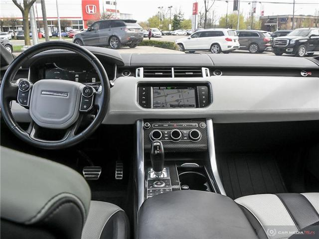 2016 Land Rover Range Rover Sport V8 Supercharged (Stk: 19HMS277) in Mississauga - Image 25 of 27