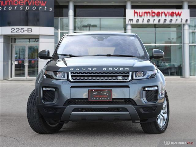 2016 Land Rover Range Rover Evoque SE (Stk: 19HMS339) in Mississauga - Image 2 of 26