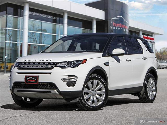 2016 Land Rover Discovery Sport HSE LUXURY (Stk: 577498) in Mississauga - Image 1 of 27