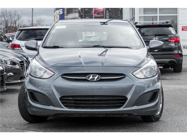 2017 Hyundai Accent  (Stk: H7828PR) in Mississauga - Image 2 of 17