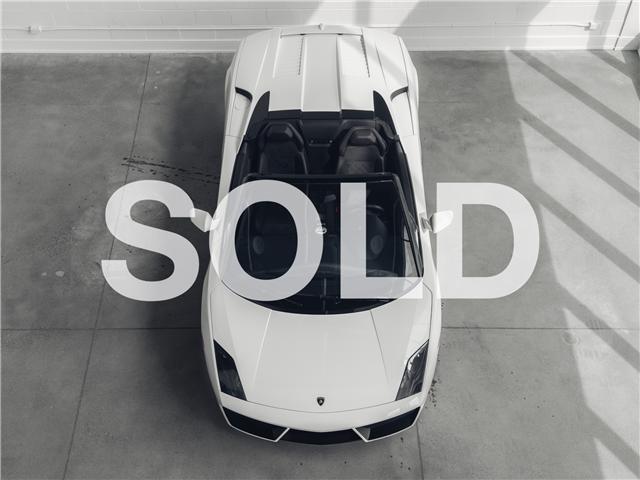 2013 Lamborghini Gallardo Spyder RWD (Stk: ZHWGU6BZ8DLA12493) in Woodbridge - Image 1 of 35