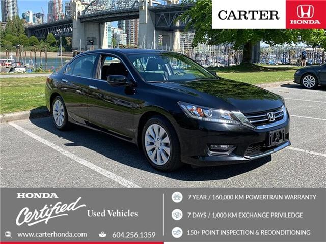2015 Honda Accord EX-L V6 (Stk: 3K33011) in Vancouver - Image 1 of 26