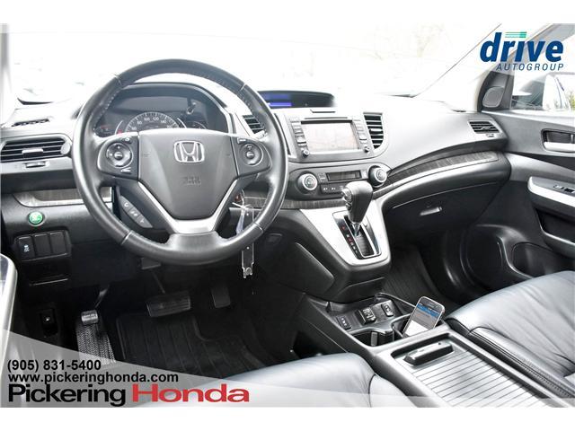 2013 Honda CR-V Touring (Stk: U1034A) in Pickering - Image 2 of 32