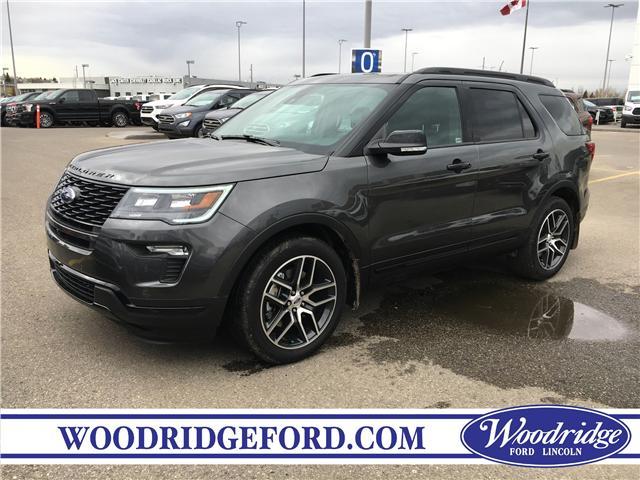 2019 Ford Explorer Sport (Stk: K-1708) in Calgary - Image 1 of 5