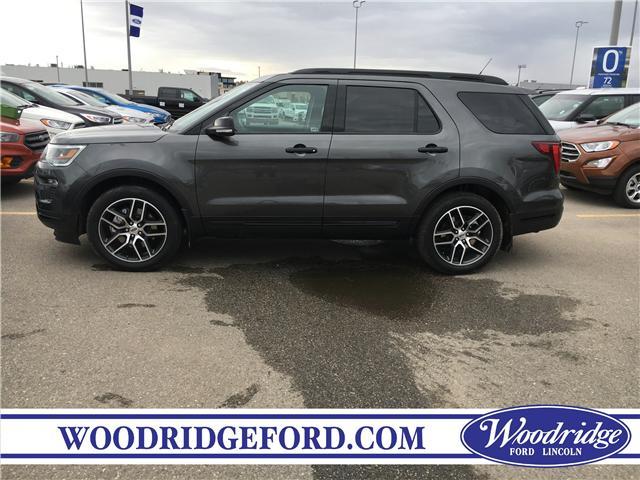 2019 Ford Explorer Sport (Stk: K-1708) in Calgary - Image 2 of 5