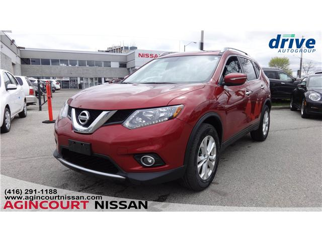 2015 Nissan Rogue SV (Stk: U12502) in Scarborough - Image 1 of 20