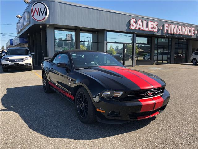 2012 Ford Mustang V6 Premium (Stk: 12-217215) in Abbotsford - Image 1 of 15
