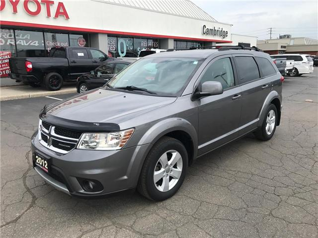 2012 Dodge Journey SXT & Crew (Stk: 1903803) in Cambridge - Image 2 of 13