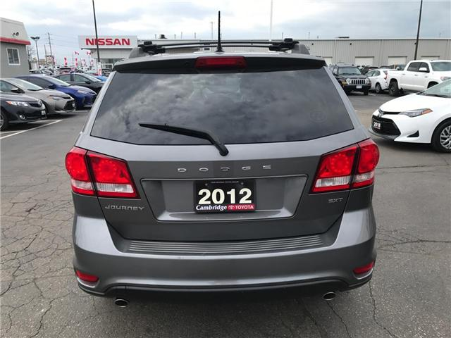 2012 Dodge Journey SXT & Crew (Stk: 1903803) in Cambridge - Image 7 of 13