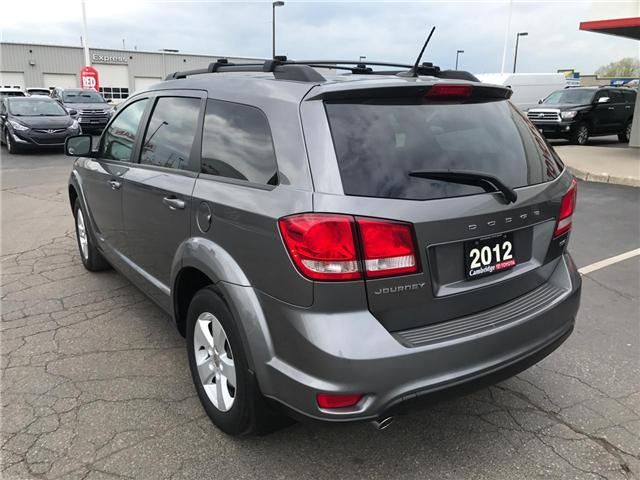 2012 Dodge Journey SXT & Crew (Stk: 1903803) in Cambridge - Image 8 of 13