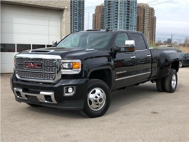2019 GMC Sierra 3500HD New 2019 GMC 3500 Denali Dually Diesel (Stk: PU95718) in Toronto - Image 1 of 21