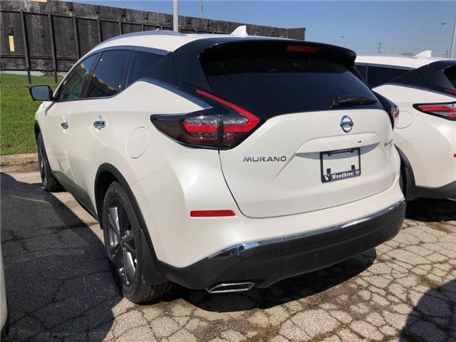 2019 Nissan Murano Platinum (Stk: MU19-011) in Etobicoke - Image 2 of 5