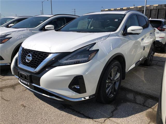 2019 Nissan Murano Platinum (Stk: MU19-016) in Etobicoke - Image 1 of 5