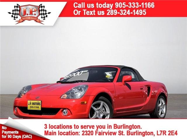 2003 Toyota MR2 Spyder Convertable, Leather, Convertible, Only 4, 000km (Stk: 46190) in Burlington - Image 1 of 21
