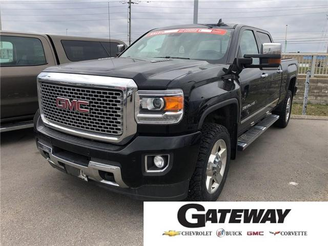 2016 GMC Sierra 2500HD 2500HD DENALI|DURAMAX|NAV|ROOF|LOADED|1-OWNER! (Stk: PW17815A) in BRAMPTON - Image 1 of 20