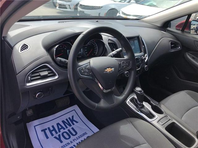 2017 Chevrolet Cruze LT|SUNROOF|BLUETOOTH|REMOTE START| (Stk: 126942A) in BRAMPTON - Image 8 of 18