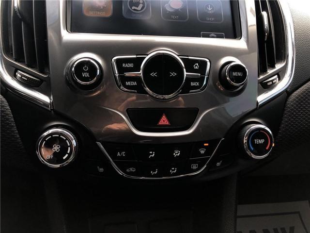 2017 Chevrolet Cruze LT|SUNROOF|BLUETOOTH|REMOTE START| (Stk: 126942A) in BRAMPTON - Image 18 of 18