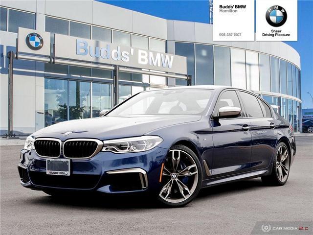 2018 BMW M550i xDrive (Stk: B98781A) in Hamilton - Image 1 of 26