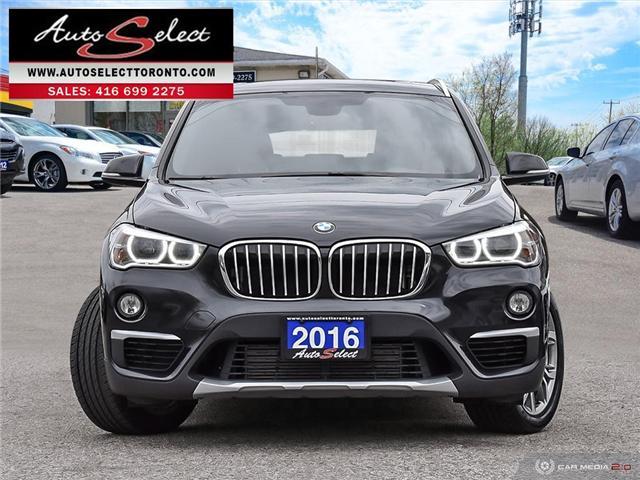 2016 BMW X1 xDrive28i (Stk: 16XW2P1) in Scarborough - Image 2 of 28