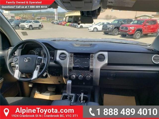 2018 Toyota Tundra  (Stk: X704319M) in Cranbrook - Image 10 of 20