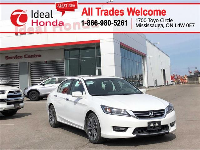 2015 Honda Accord Sport (Stk: I190427A) in Mississauga - Image 1 of 16
