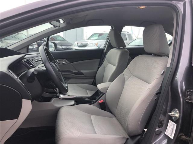 2015 Honda Civic LX (Stk: 66967) in Mississauga - Image 10 of 19