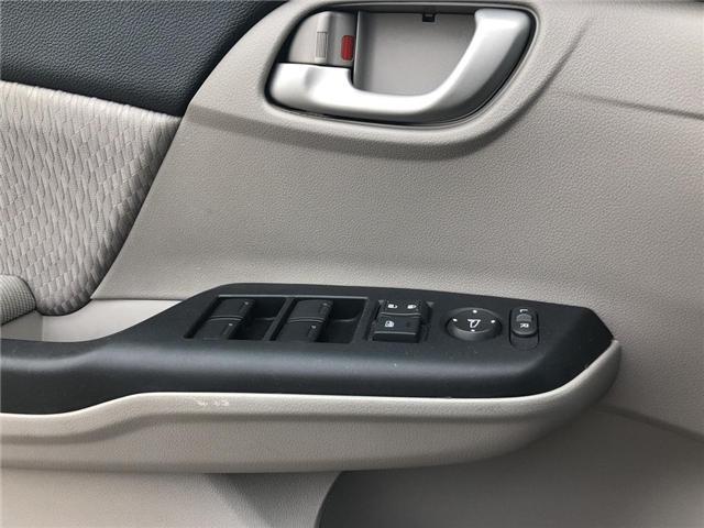 2015 Honda Civic LX (Stk: 66967) in Mississauga - Image 15 of 19