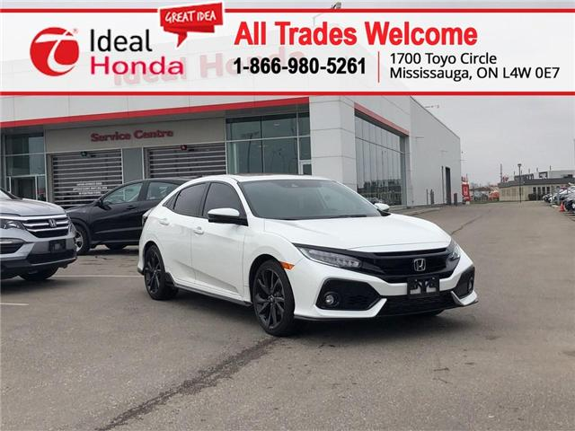 2017 Honda Civic Sport Touring (Stk: I190881A) in Mississauga - Image 1 of 19