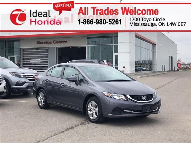 2015 Honda Civic LX (Stk: I190742A) in Mississauga - Image 1 of 18