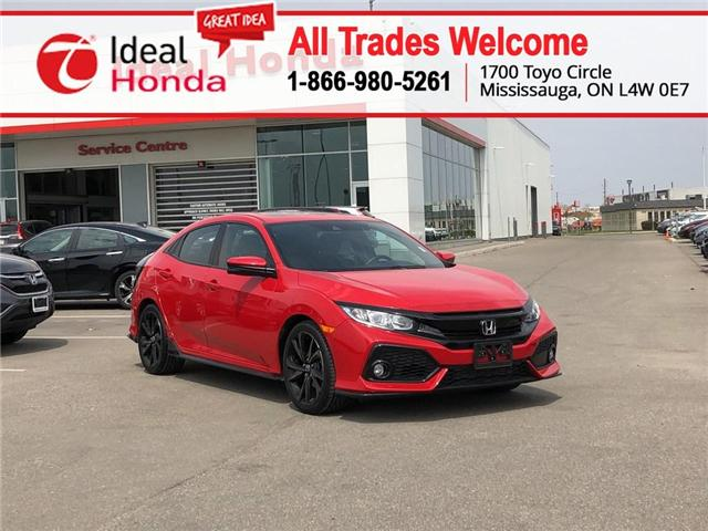 2018 Honda Civic Sport (Stk: I190884A) in Mississauga - Image 1 of 18