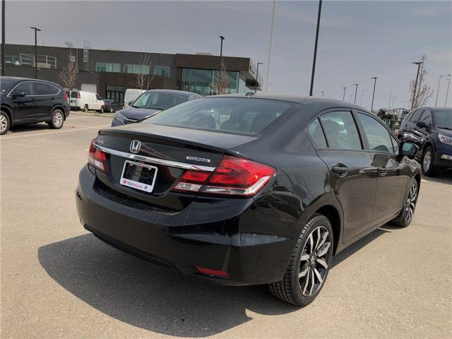 2015 Honda Civic Touring (Stk: I190215A) in Mississauga - Image 7 of 18
