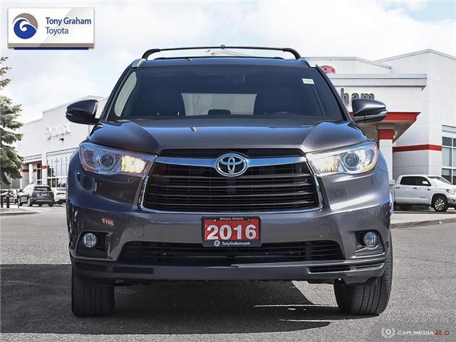 2016 Toyota Highlander XLE (Stk: U9099) in Ottawa - Image 2 of 30