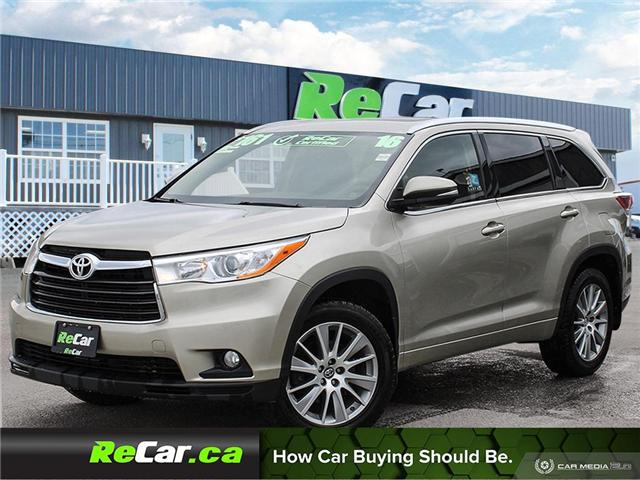 2016 Toyota Highlander XLE (Stk: 190162A) in Fredericton - Image 1 of 26