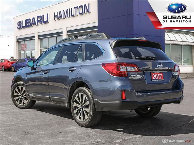 2017 Subaru Outback 2.5i Limited (Stk: U1435) in Hamilton - Image 4 of 27