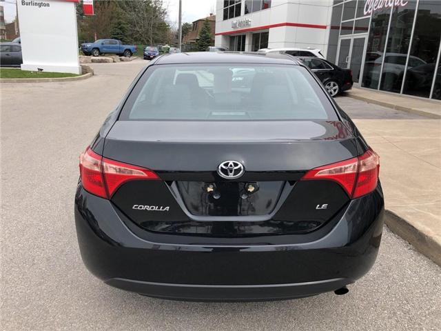 2017 Toyota Corolla LE (Stk: U10532) in Burlington - Image 4 of 18