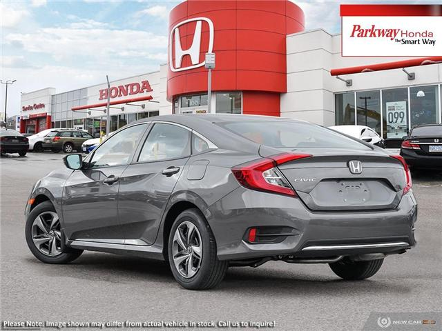 2019 Honda Civic LX (Stk: 929391) in North York - Image 4 of 23