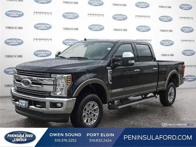 2019 Ford F-250 Lariat (Stk: 19FE157) in Owen Sound - Image 1 of 25
