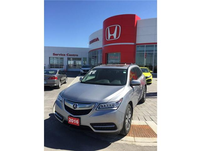 2016 Acura MDX Navigation Package (Stk: b0176) in Ottawa - Image 1 of 19