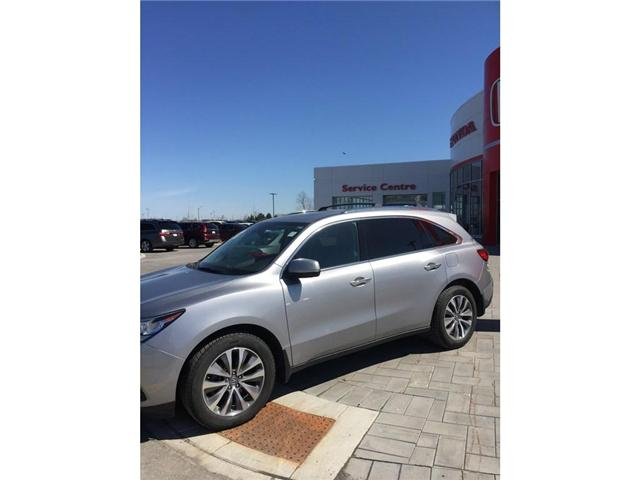 2016 Acura MDX Navigation Package (Stk: b0176) in Ottawa - Image 2 of 19
