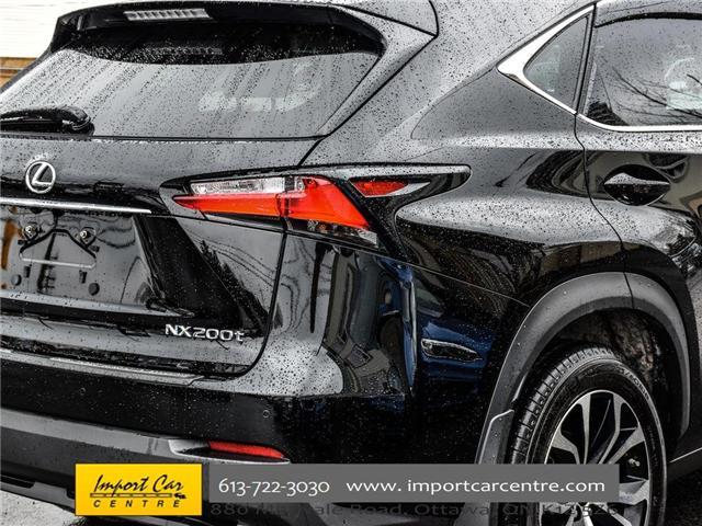 2017 Lexus NX 200t Base (Stk: 120231) in Ottawa - Image 9 of 30