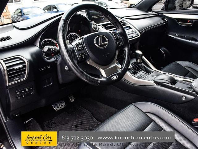 2017 Lexus NX 200t Base (Stk: 120231) in Ottawa - Image 15 of 30