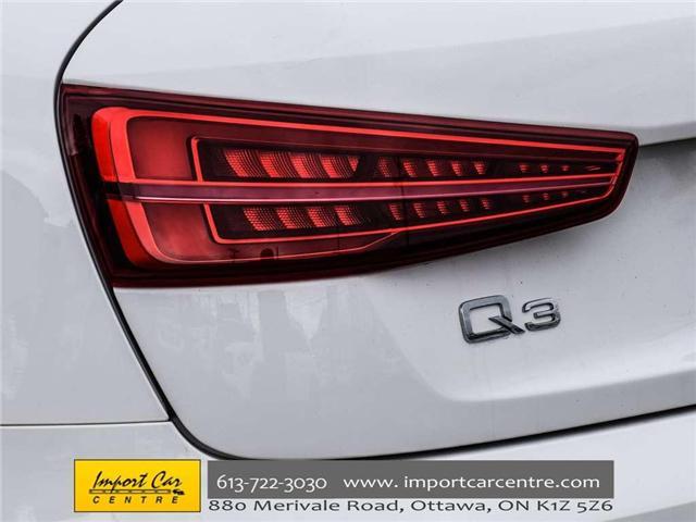 2016 Audi Q3 2.0T Technik (Stk: 018472) in Ottawa - Image 6 of 27