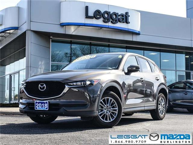 2018 Mazda CX-5 GX- BLUETOOTH, LED HEADLIGHTS, ALLOY WHEELS (Stk: 1757) in Burlington - Image 1 of 22
