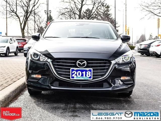 2018 Mazda Mazda3 Sport GS- HEATED SEATS, HEATED STEERING WHEEL, MOONROOF (Stk: 1759) in Burlington - Image 2 of 23