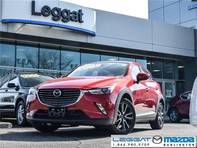 2016 Mazda CX-3 GT- AWD, LEATHER, NAV, MOONROOF, BOSE (Stk: 1753A) in Burlington - Image 1 of 23