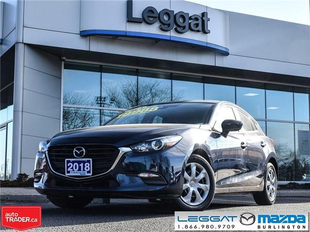 2018 Mazda Mazda3 Sport GX-AUTOMATIC, A/C, BLUETOOTH, REAR CAMERA (Stk: 1796) in Burlington - Image 1 of 24