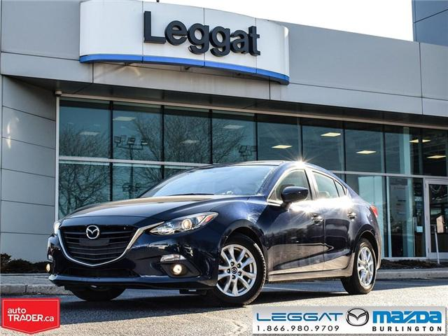 2015 Mazda Mazda3 GS- ONE OWNER, BLUETOOTH, MOONROOF (Stk: 194628A) in Burlington - Image 1 of 23